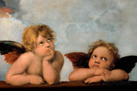 raphael-little-angels-art-poster-print