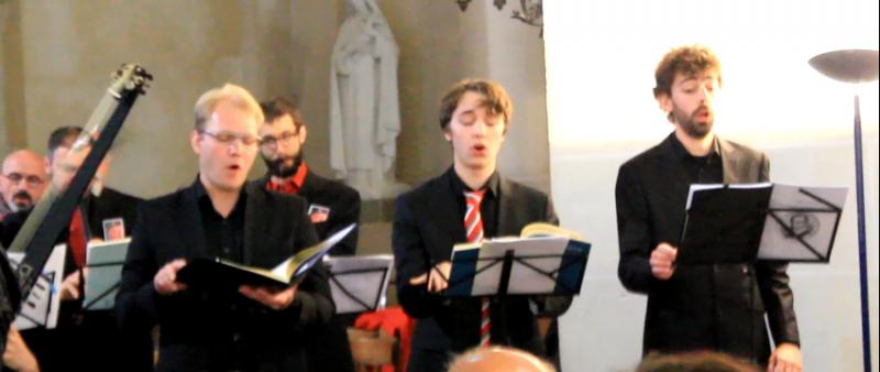 Alexander Mikhaylov, Gabriel Colin, Adrien Baty, Senlis 2017.