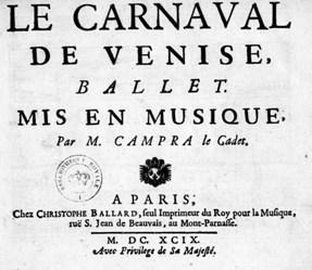Carnival de venise