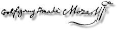 Mozart signature
