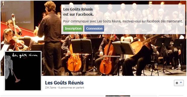 Gouts Reunis FB