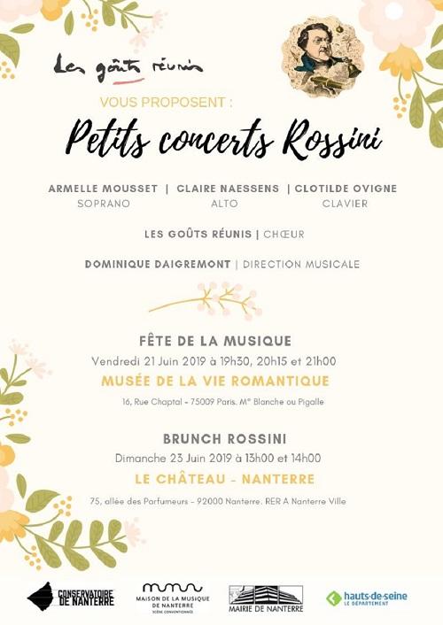 Reduced Petits concerts Rossini – Juin 2019
